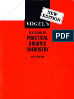 Vogel's Textbook of Practical Organic Chemistry - 5th Edition - By a.I. Vogel, B.S. Furniss, A.J. Hannaford P.W.G. Smith & a.R. Tatchell (Longman Scientific & Technical - 1989) 1540s