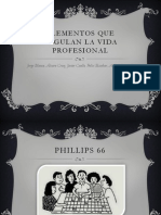 ELEMENTOS ÉTICOS DE LA VIDA PROFESIONAL