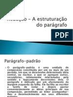 Redação – A estruturação do parágrafo