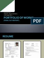 Portfolio of Works