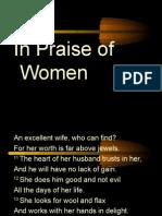 In Praise of Women