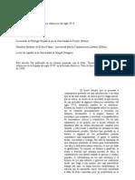 Sociedad y Literatura en los villancicos del siglo XVII (copia manuscrita)