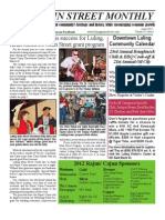 LMS Monthly Newsletter April 2012