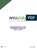 NYU-Poly Catalog 2011 Final