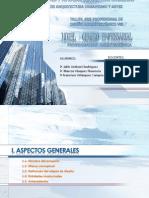 FAUA UPAO Taller Pre-profesional de Diseño Arquitectónico VIII - 2010  Programación Arquitectónica  HOTEL + CENTRO EMPRESARIAL