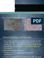 Anemias megaloblástica, ferropriva, microblásticas y hemolíticas pedia
