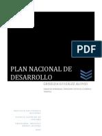 El Plan Nacional de Desarrollo 2007