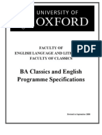 English and Classics