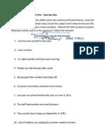 X-Word Grammar Lesson 5 Ex1