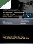 FAUA UPAO  Taller Pre profesional de Diseño Arquitectonico VIII  - 2008  Programación Arquitectónica  BIBLIOTECA UPAO