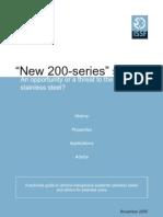 Aceros serie 200