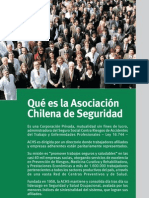 Que Es La Asociacion Chilena de Seguridad Achs