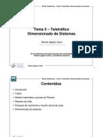 Teletrafico,Dimensionamiento de Sistemas
