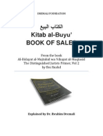 Kitab Al-Buyu' (Book of Sales)