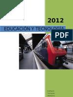 EDUCACIÓN Y TECNOLOGÍA resumen