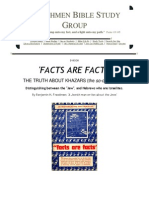 """ENG - """"FACTS ARE FACTS, THE TRUTH ABOUT KHAZARS"""" [Including Illustrations] by Benjamin H. Freedman - A suppressed classic"""