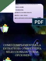 Como Complementar La Estrategia Competitiva Seleccionada (1)