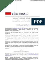 Resolução nº 35, do CNJ ( Disciplina o Arrolamento e Divórcio Extrajudicial )