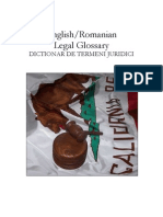 English-Romanian Legal Glossary