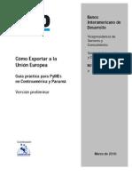 Guia Practica Para PYMES Como Exportar a La UE[1]