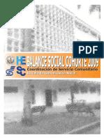 Balance Social CSC ECS 2009