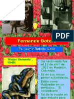 Fernando Botero. Ps. Jaime Botello Valle.