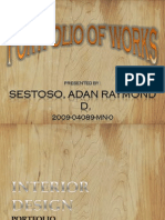 Sestoso, Adan Raymond d. - Portfolio