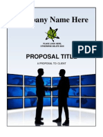 Free Proposal Template-1