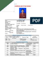CV Dosen (contoh)
