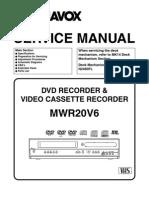Magnavox+Mwr20v6+Service+Manual