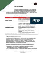 5 Registro de Inversion Extranjera en Colombia Ib 2011