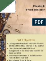 P4- Fraud and Error