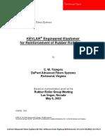 7. H-89940 KEVLAR Engineered Elastomer for Reinforcement of Rubber R
