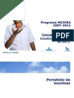 2. MEJORA Insulinas 2007-2011