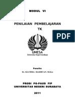 6. Penilaian Pembelajaran Tk. Doc