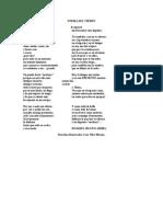 Poema Del Tiempo
