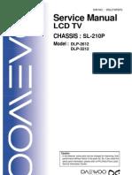 daewoo+DLP-2612_3212+chasis+SL-210P