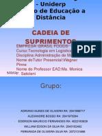 CADEIA DE SUPRIMENTOS