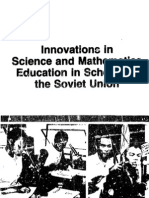 Innovations in Science and Mathematics Education in Schools in the Soviet Union 1960s