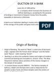 Introduction of a Bank--eco