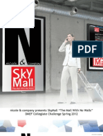 SkyMall Plans Book