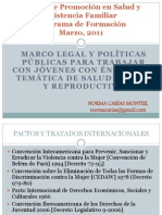 Marco legal y políticas