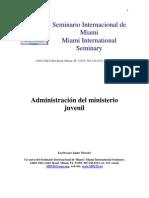 Jaime Morales - Administracion Del Ministerio Juvenil