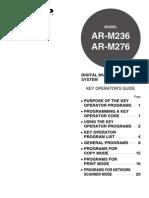 ARM236-M276 OM Key Operators Guide GB