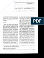 Oral Cavity & Pharynx