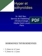 Hyper-hypothyroïdies