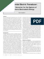 Pyramidal Electric Transducer