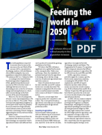 RT Vol. 10, No. 4 Feeding the world in 2050