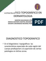 DIAGNÓSTICO TOPOGRÁFICO EN DERMATOLOGÍA