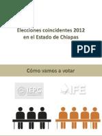 Flujo de votación elecciones coincidentes 2012